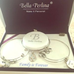 Bella Perkins Family Tree Bracelet Set